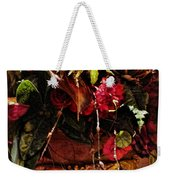 Floral Antique Weekender Tote Bag