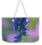 Floral Crystal Weekender Tote Bag