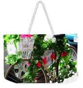 Floral Delivery Weekender Tote Bag