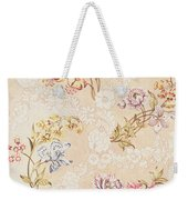 Floral Design With Peonies Lilies And Roses Weekender Tote Bag by Anna Maria Garthwaite