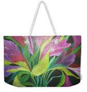 Floral Fantasy 1 Weekender Tote Bag