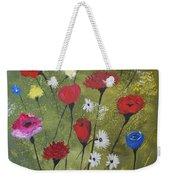 Floral Fields Weekender Tote Bag