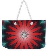 Floral Geometric 102311a Weekender Tote Bag