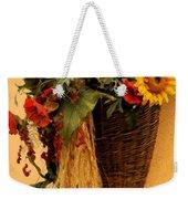 Floral Horn Of Plenty Weekender Tote Bag