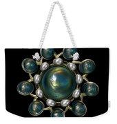 Floral Jewel Weekender Tote Bag