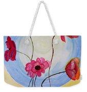 Floral Orb Weekender Tote Bag