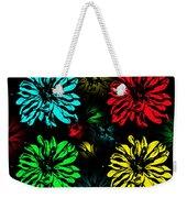Floral Pop Art Weekender Tote Bag