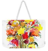 Floral Seven Weekender Tote Bag