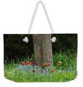 Floral Surrounding Weekender Tote Bag
