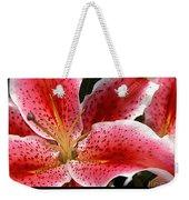 Floral Textures I Weekender Tote Bag