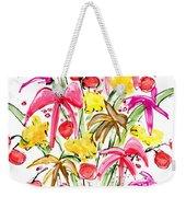 Floral Twelve Weekender Tote Bag