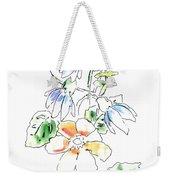 Floral Watercolor Paintings 4 Weekender Tote Bag
