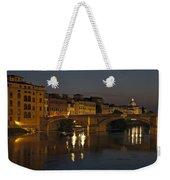 Florence - Ponte San Trinita Weekender Tote Bag