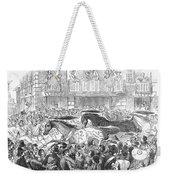 Florence: Horse Race, 1857 Weekender Tote Bag