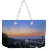 Florence Sunset Weekender Tote Bag