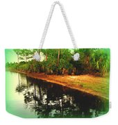 Florida Landscape Weekender Tote Bag by Susanne Van Hulst