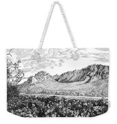 Florida Mountains And Poppies Weekender Tote Bag by Jack Pumphrey