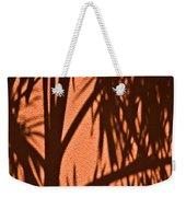 Florida Palm Shadow Weekender Tote Bag