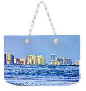 Florida Turbulence Weekender Tote Bag by Deborah Benoit