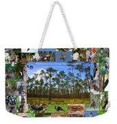 Florida Wildlife Photo Collage Weekender Tote Bag