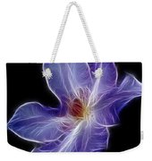 Flower - Clematis - Abstract Weekender Tote Bag