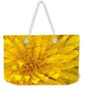 Flower - Dandelion Weekender Tote Bag