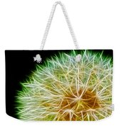 Flower - Forbidden Planet - Abstract Weekender Tote Bag