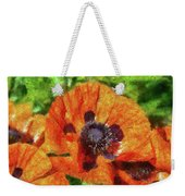 Flower - Poppy - Orange Poppies  Weekender Tote Bag