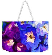 Flower Arrangement 012812 Weekender Tote Bag by David Lane