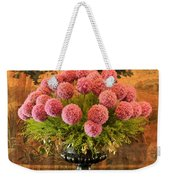 Flower Arrangement Chateau Chenonceau Weekender Tote Bag