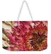 Flower Art Weekender Tote Bag