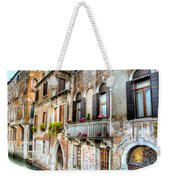 Flower Balcony Weekender Tote Bag