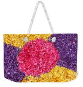 Flower Carpet Weekender Tote Bag