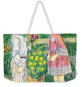 Flower Children Weekender Tote Bag