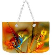 Flower Composition Weekender Tote Bag