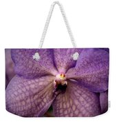 Flower Face Weekender Tote Bag