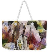Flower Full Of Color Weekender Tote Bag