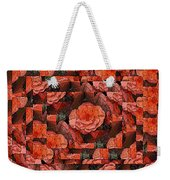 Flower Garden Delightful Weekender Tote Bag