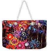Flower Garden Weekender Tote Bag by Karen Elzinga