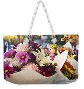 Flower Market Weekender Tote Bag