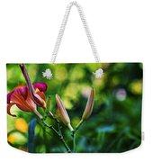 Flower Of Summer Weekender Tote Bag