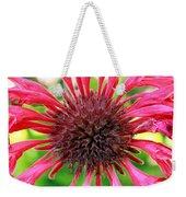 Flower Pink Weekender Tote Bag