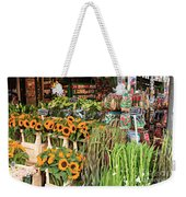Flower Shop In Amsterdam Weekender Tote Bag