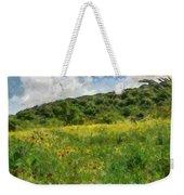 Flowering Fields Weekender Tote Bag