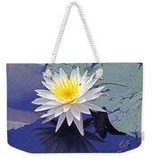 Flowering Lily-pad- St Marks Fl Weekender Tote Bag
