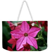 Flowering Tobacco Weekender Tote Bag