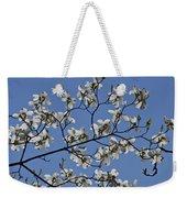 Flowering White Dogwood Weekender Tote Bag
