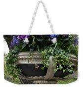 Flowerpot With Hydrangea Weekender Tote Bag
