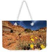 Flowers And Canyons Weekender Tote Bag