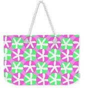 Flowers And Spots  Weekender Tote Bag